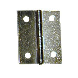 Brass plated light hinge (pair) - ABC Ironmongery