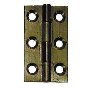 Solid drawn brass hinge - ABC Ironmongery