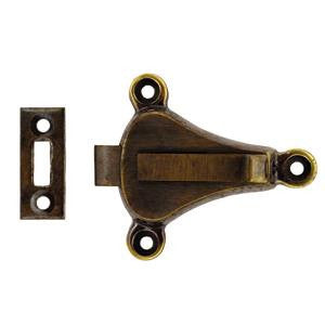 Banjo catch in brass - ABC Ironmongery