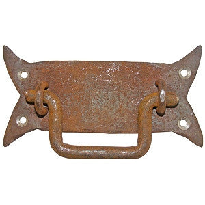 "Cast iron handle 6"" x 3"" - ABC Ironmongery"