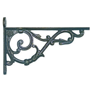 Image of Victorian cast iron shelf bracket.