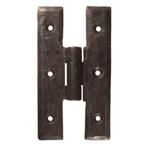 "Hand forged H hinge 3½"" x 2"" - ABC Ironmongery"