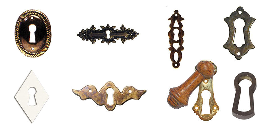 collection of images showing various escutcheons