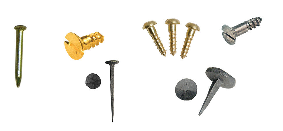 collection of images showing various fixing types