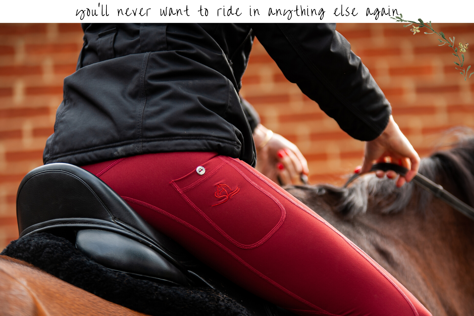 riding leggings with pocket