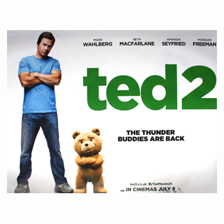Ted 2 - Original Quad Film Poster - Julespire Movie Memorabilia - 1