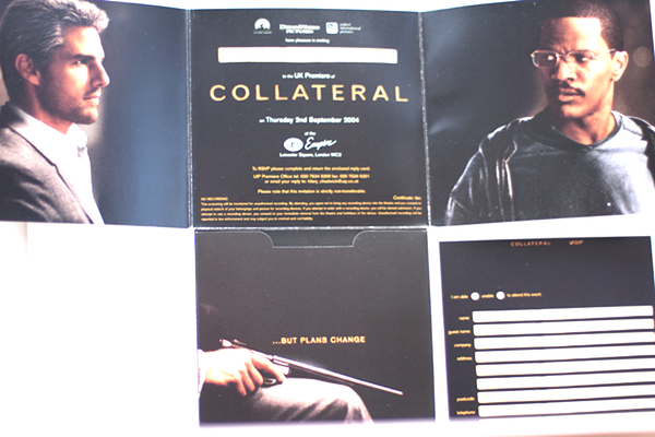 Collateral - Movie Premiere Ticket - Julespire Movie Memorabilia - 3
