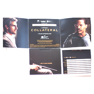 Collateral - Movie Premiere Ticket - Julespire Movie Memorabilia - 1