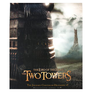 Lord of the Rings: The Two Towers Compact Film Poster - Julespire Movie Memorabilia - 1