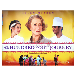 The Hundred Foot Journey - Original Quad Film Poster - Julespire Movie Memorabilia - 1