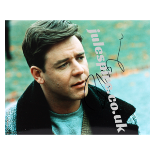 Russell Crowe Genuine Original Autograph