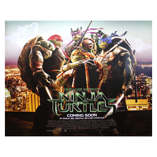 Teenage Mutant Ninja Turtles (2014) - Original Quad Film Poster - Julespire Movie Memorabilia - 1