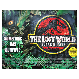 Jurassic Park The Lost World - Original Quad Movie Poster