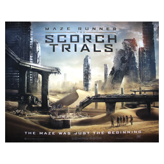 Maze Runner: The Scorch Trials - Original Quad Film Poster - Julespire Movie Memorabilia