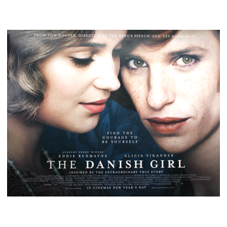 The Danish Girl - Original Quad Film Poster
