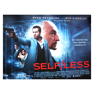 Self/less - Original Quad Film Poster #2 - Julespire Movie Memorabilia