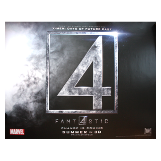 Fantastic Four 4 - Original Quad Film Poster #2 - Julespire Movie Memorabilia
