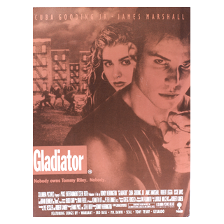 Gladiator (1992) - Movie Programme