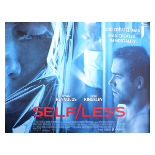 Self/less - Original Quad Film Poster #1 - Julespire Movie Memorabilia