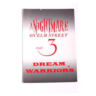 Nightmare On Elm Street Part 3: Dream Warriors - Movie Programme