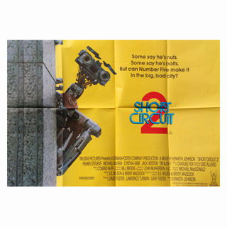 Short Circuit 2 - Original Quad Film Poster - Julespire Movie Memorabilia