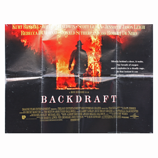 Backdraft - Original Quad Film Poster - Julespire Movie Memorabilia