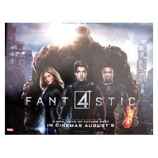 Fantastic Four 4 - Original Quad Film Poster #1 - Julespire Movie Memorabilia