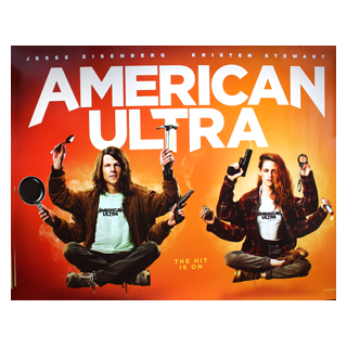 American Ultra - Original Quad Film Poster - Julespire Movie Memorabilia