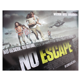 No Escape - Original Quad Film Poster - Julespire Movie Memorabilia