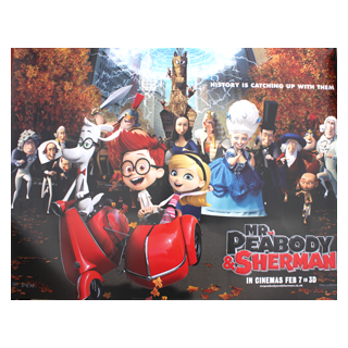 Mr Peabody & Sherman - Original Quad Film Poster - Julespire Movie Memorabilia - 1