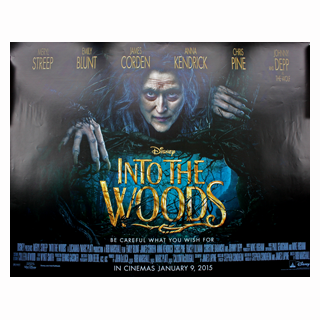 Into the Woods - Original Quad Poster