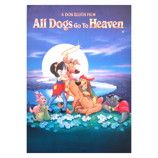 All Dogs Goes to Heaven - Movie Programme
