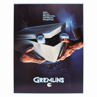 Gremlins Original Movie Promotional Flyer / Press Booklet - Julespire Movie Memorabilia - 1