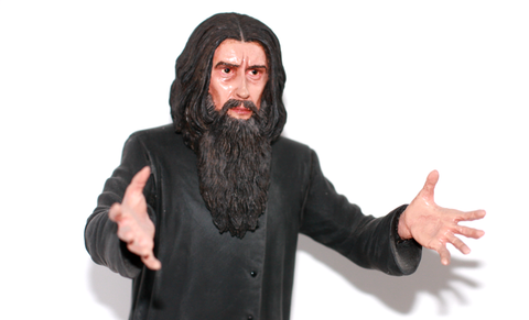 Figurine Rasputin the Mad Monk Owned by Christopher Lee