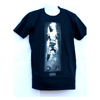 Star Wars Han Solo in Carbonite Official T-Shirt - Julespire Movie Memorabilia - 1
