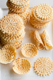 Crazy for pizzelles!