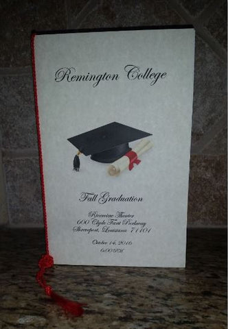 Graduation Programs – Unforgettable Invites & More