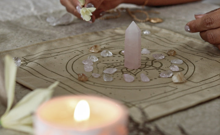 How to set a sacred space & a special gift for you