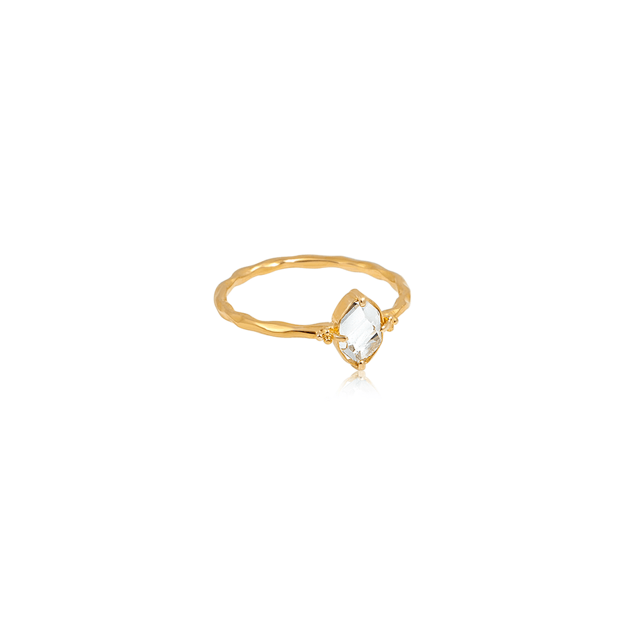 You are Brilliant Ring • 18kt Gold