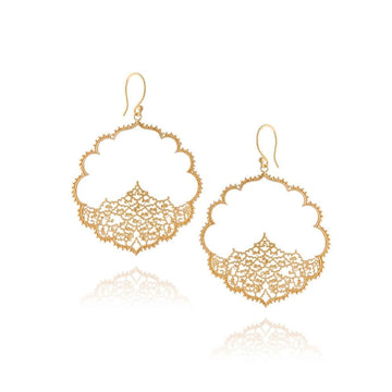 Soul Wisdom Earrings • Gold