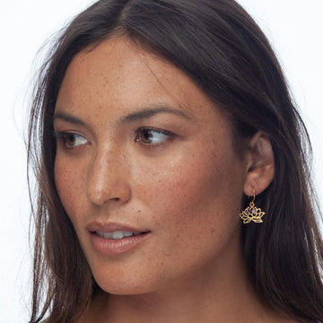 Unlimited Potential Earrings • Gold Plated