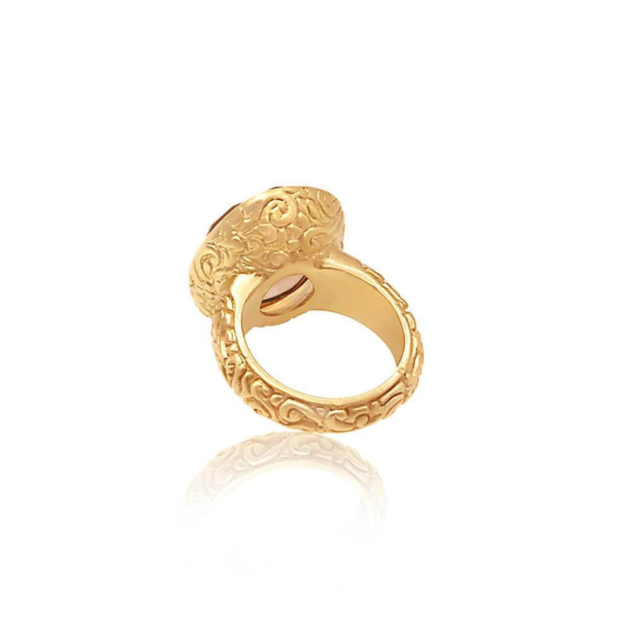 Truth of My Soul Ring • Citrine • Gold Vermeil