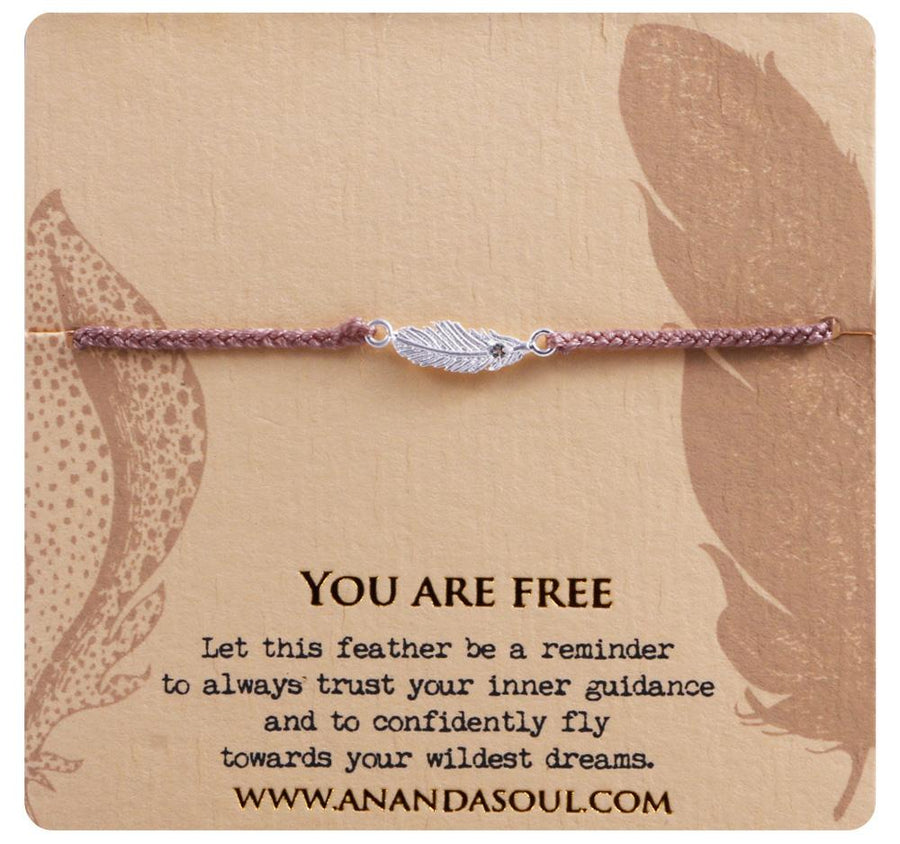 You are free bracelet • Silver
