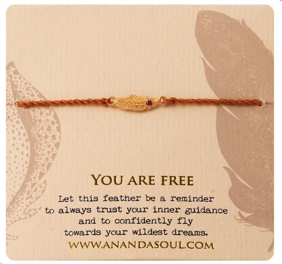 You are free bracelet • Gold