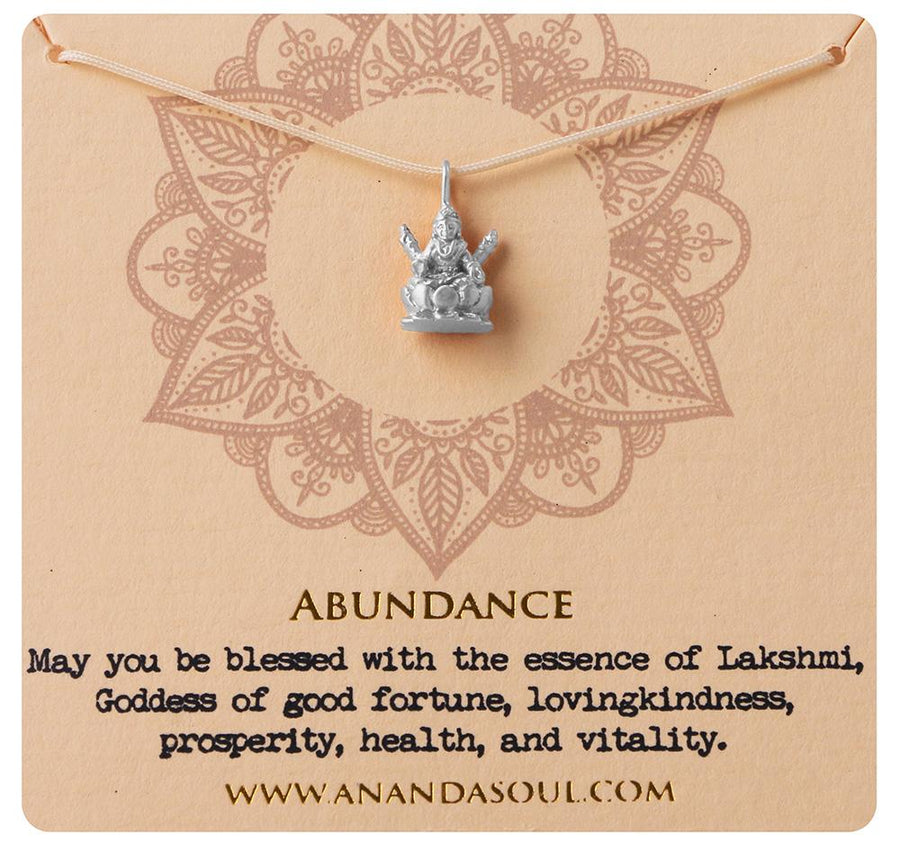 Abundance necklace • Silver
