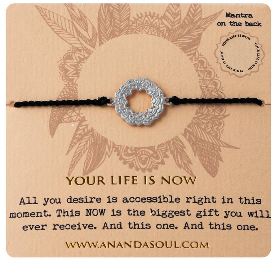 Your life is now bracelet • Silver