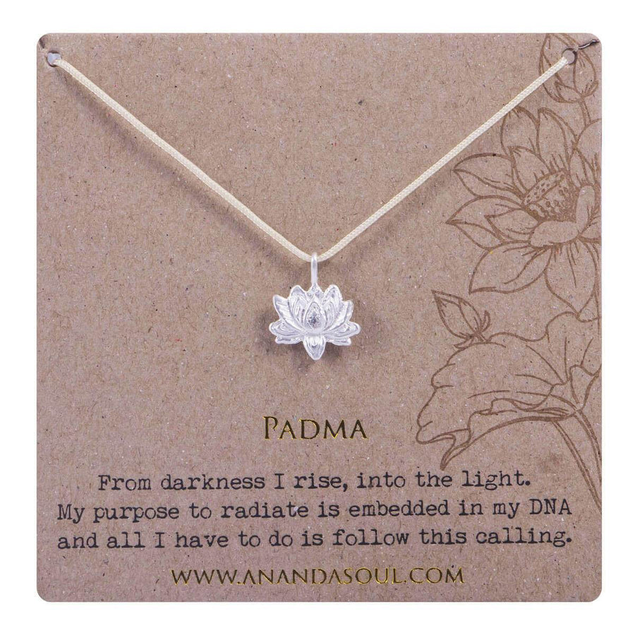 Padma necklace - silver
