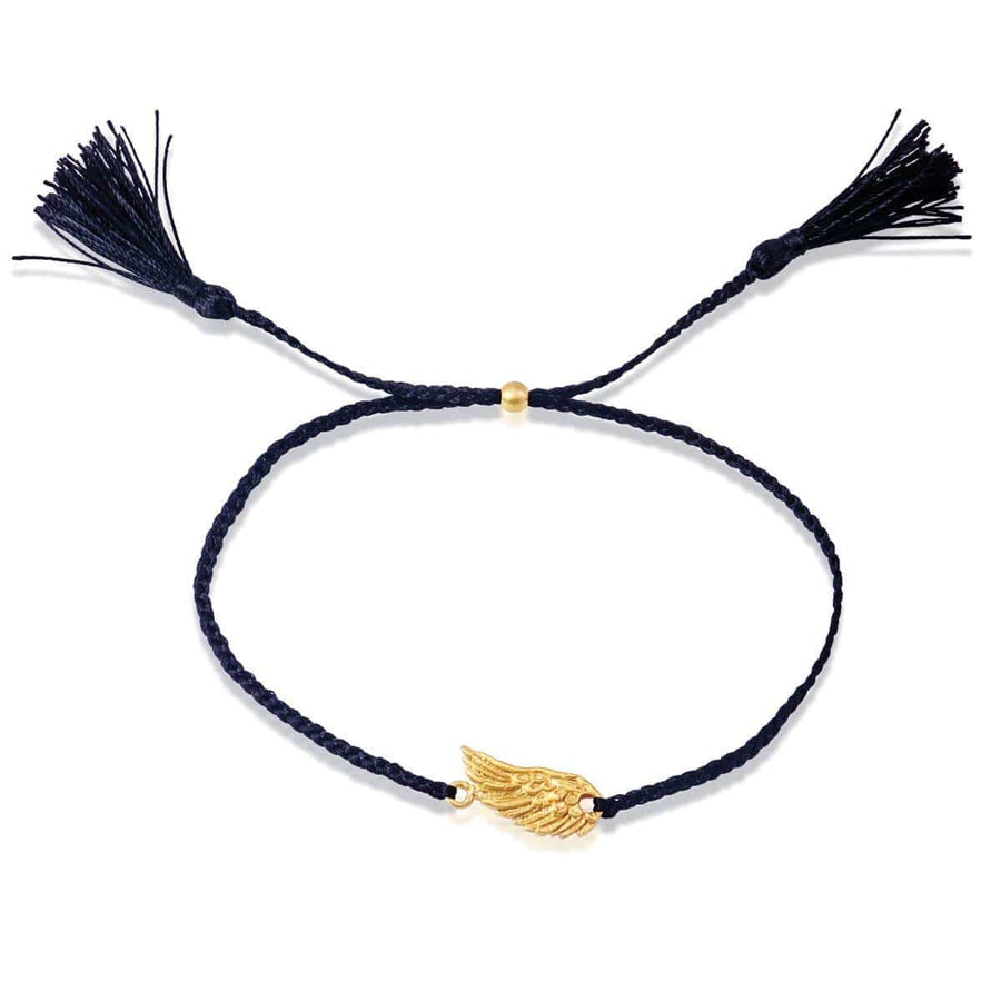 Spread your wings bracelet - gold