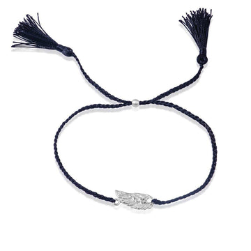 Spread your wings bracelet - silver