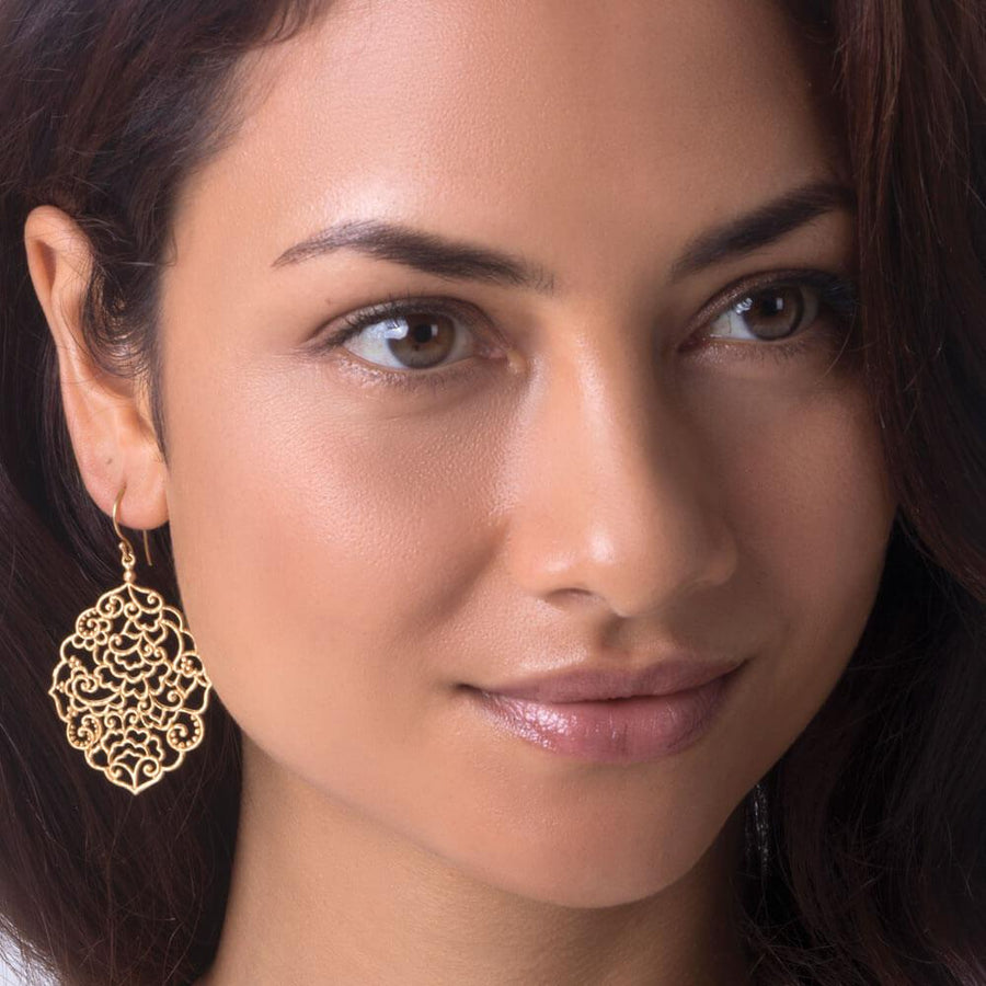 The magic of Bali earrings